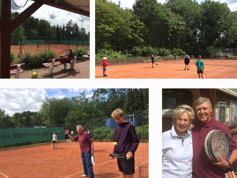 Liether Tennis Jugend Camps: Die Mischung macht's!