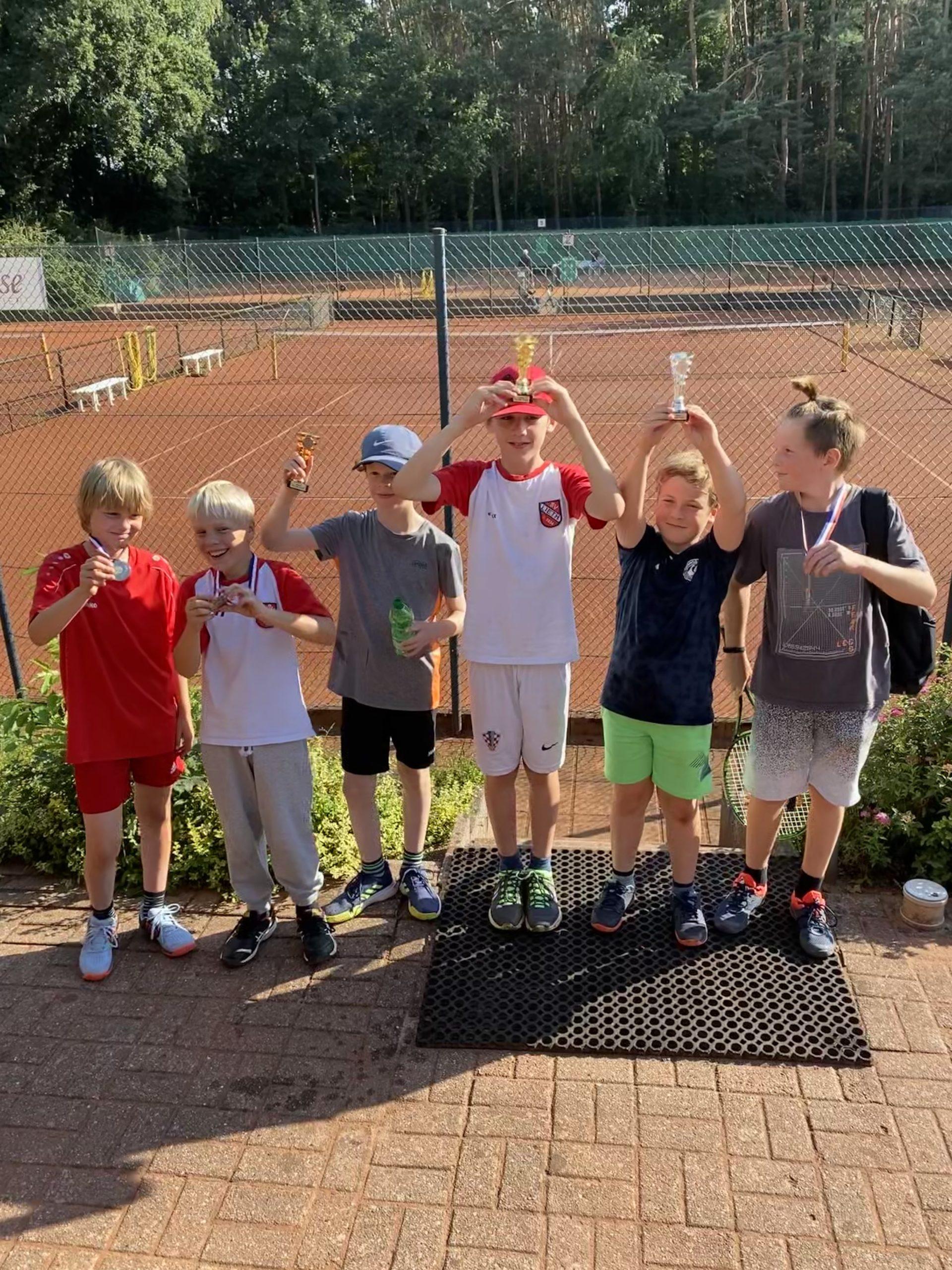 Jugend-Clubmeisterschaften 2020: Clubmeister Junioren + Bambino stehen fest!