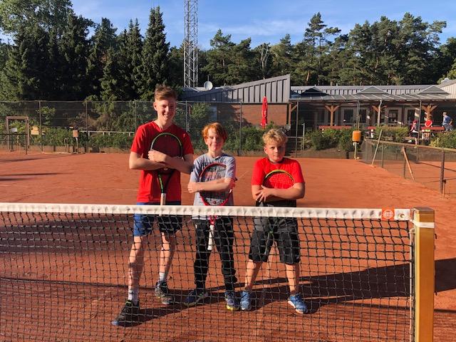 Unser Nachwuchs auf Tennistour
