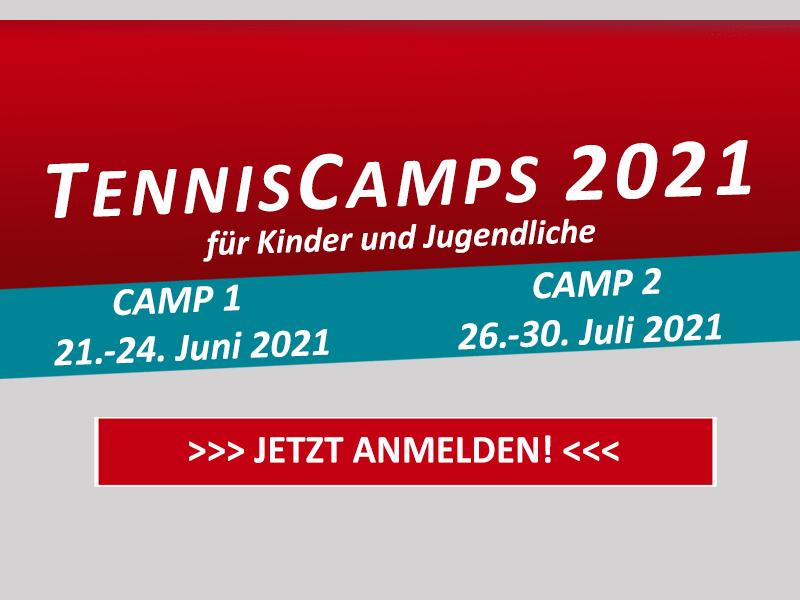 SV Liether TennisCamps 2021 für Kinder und Jugendliche